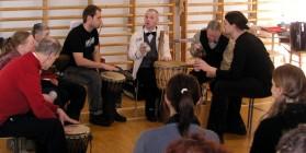 Äetsän kansanmusiikkitapahtuma helmikuussa 2007.