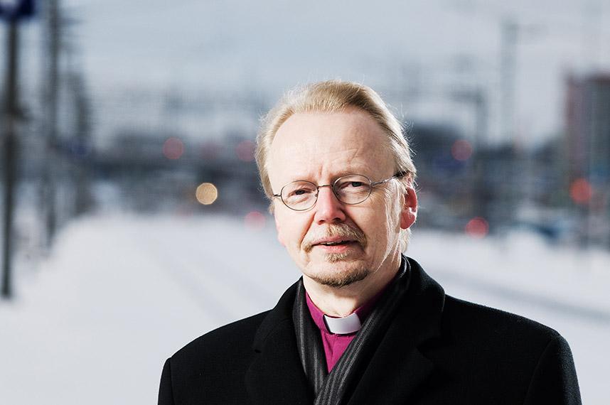 Kirkon tiedotuskeskus, Jussi Vierimaa