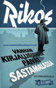 Vanhan kirjallisuuden päivät 2011 ja Rikos