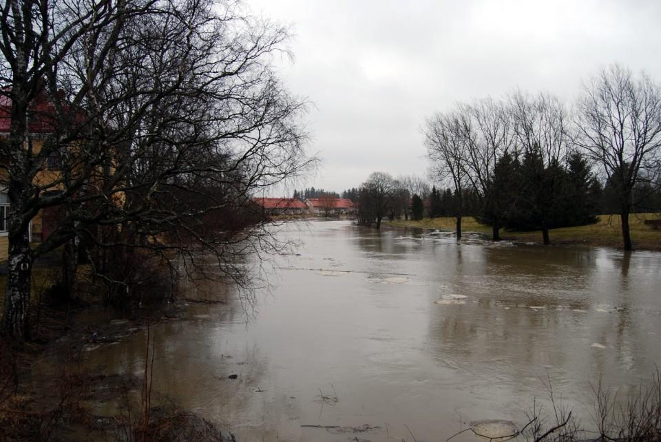 Huittisissa tulvi viime vuoden huhtikuussa.
