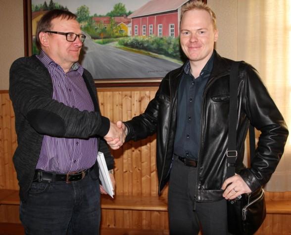 Paavo Törmälä ja Jani Hanhijärvi