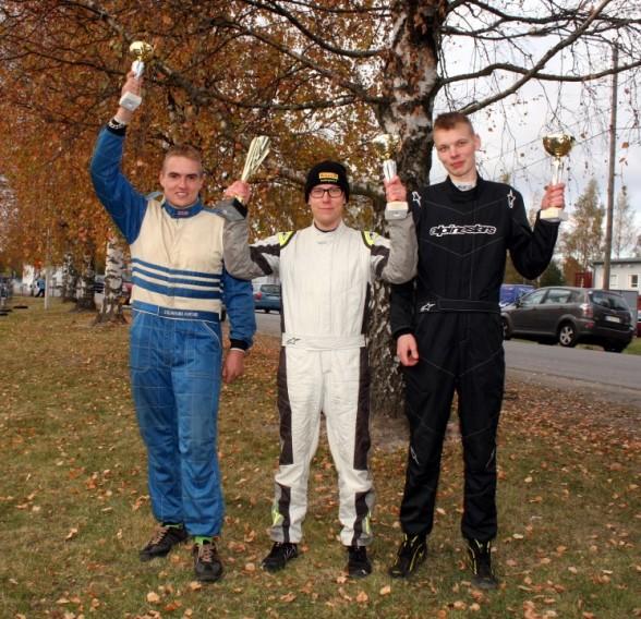 Rallisprintin Suomen mestarit 2015