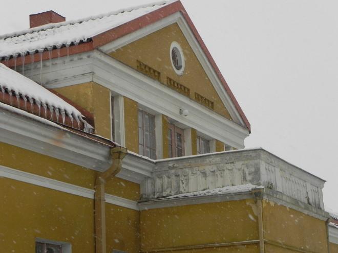 Jouluaattona 2017 Tyrvään pappilan parvekkeelta julistetaan Sastamalan joulurauha.