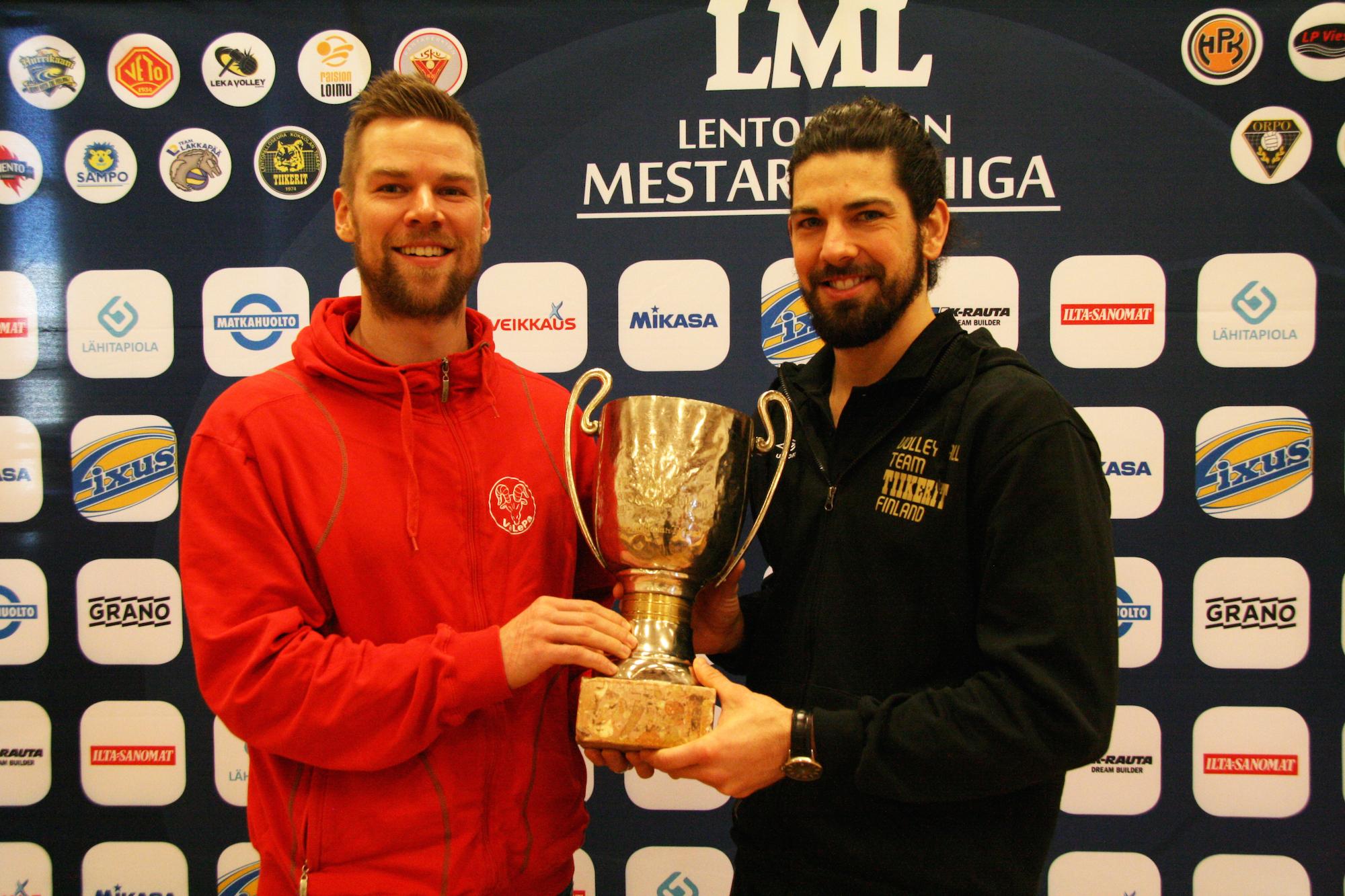 Antti Esko ja Steven Kehoe