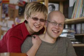 Aino Havukainen ja Sami Toivonen. Kuva Pertti Nisonen 2007