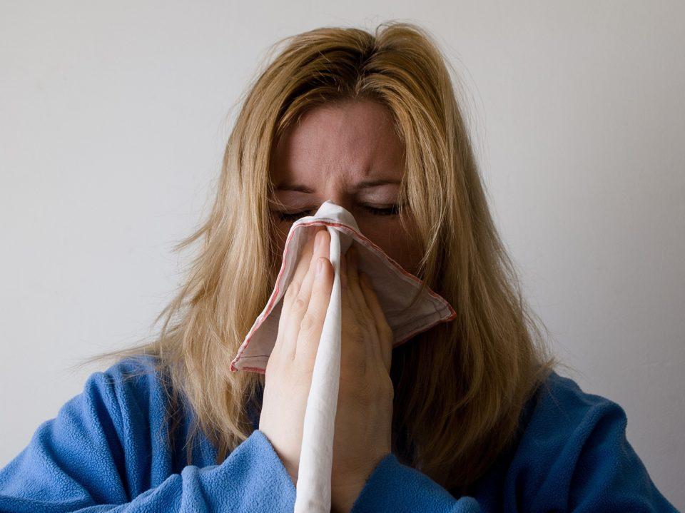 Influenssa, flunssa, nuha,