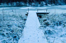 Laituri, talvi