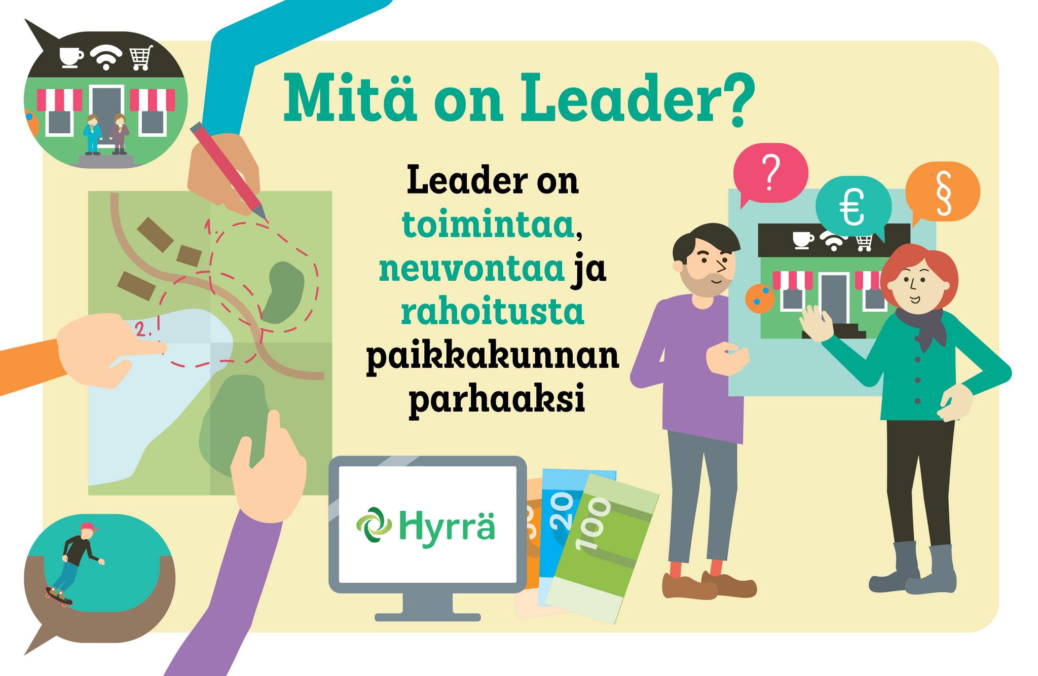Mitä on Leader?