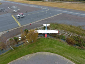 Pienkoneonnettomuus Tuulikki-Vampulan lentokentällä