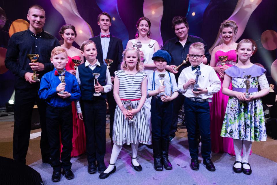 Kultaisen ja Hopeisen Harmonikan finalistit