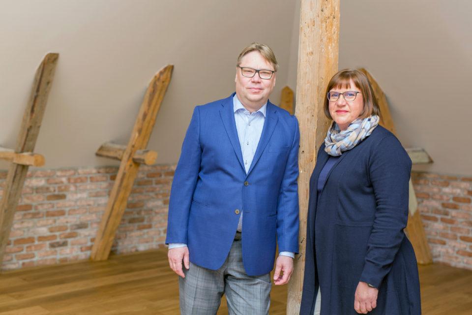 Kirsi-Marja ja Jarmo Nieminen