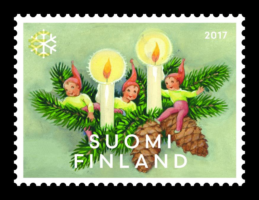 Joulupostimerkki
