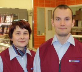 Emmi Uusi-Kouvo ja Antti Pouru