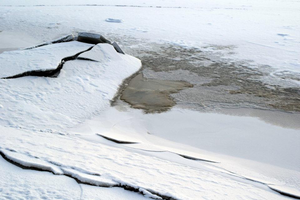 Joki, jää
