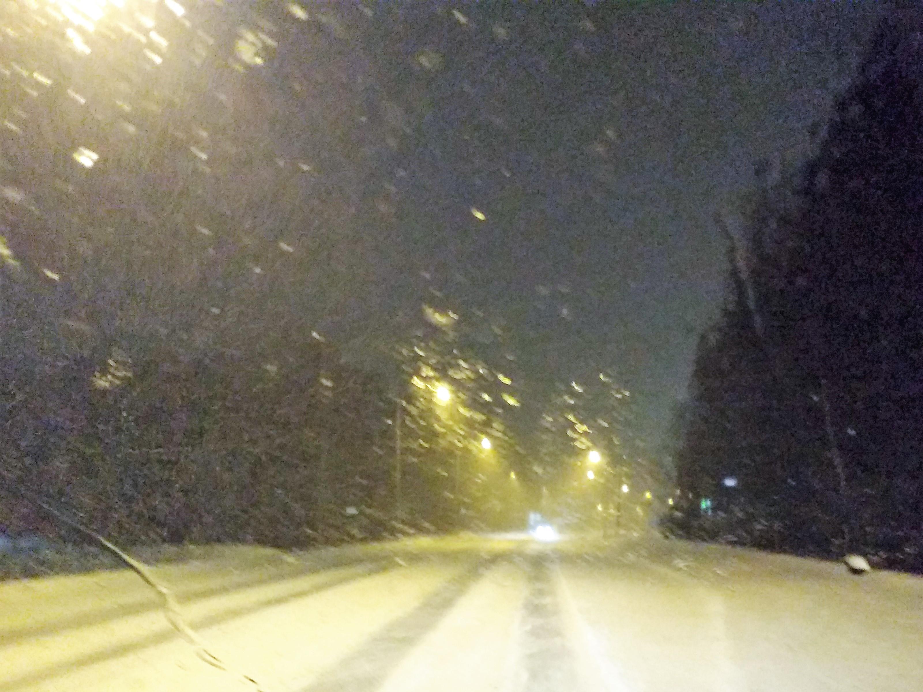 Lumisade, vesisade, talvi, liikenne
