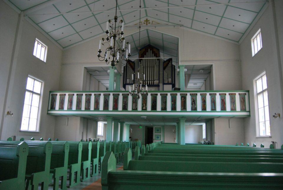 Punkalaidun, kirkko