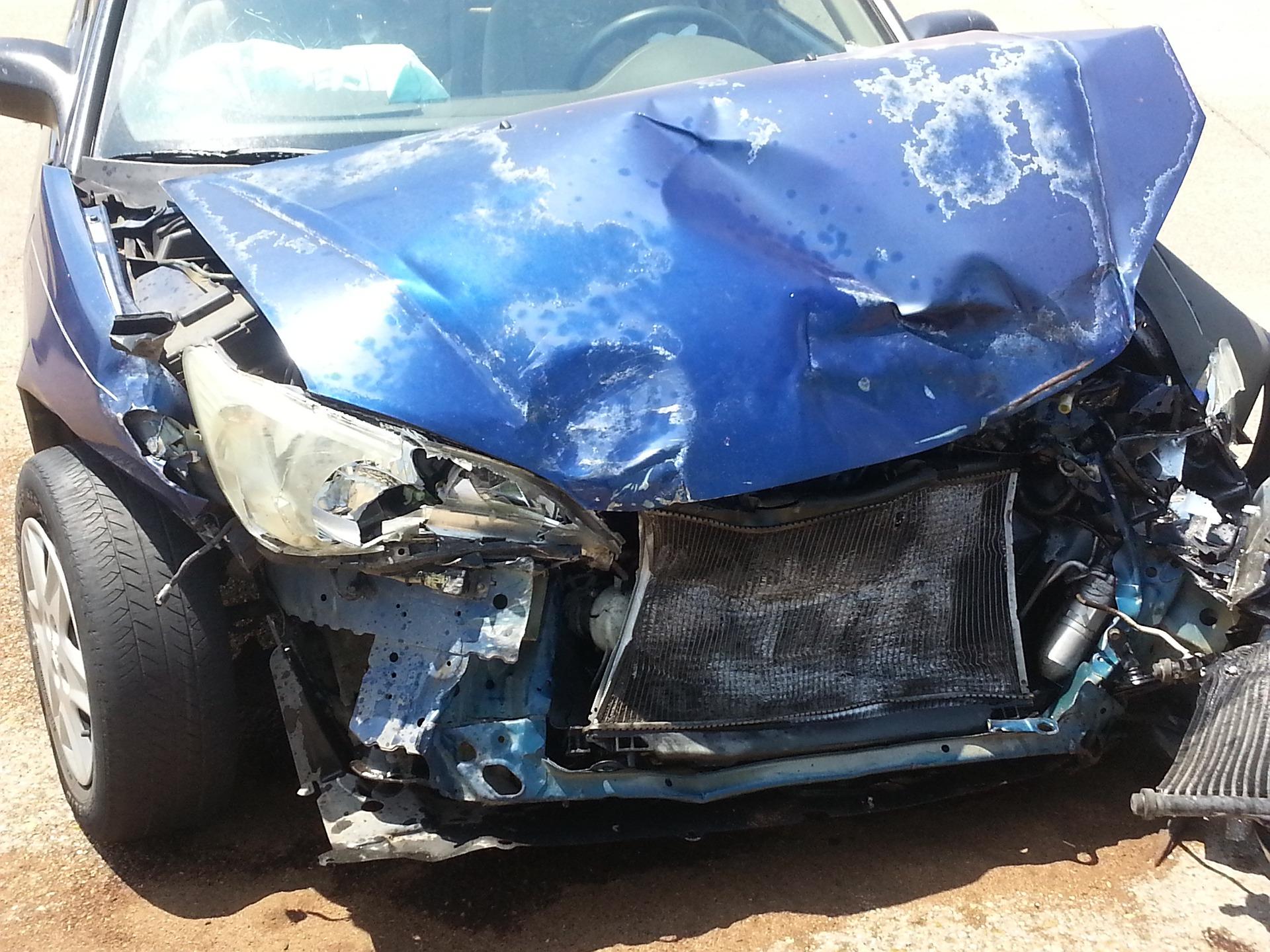 Onnettomuus, auto