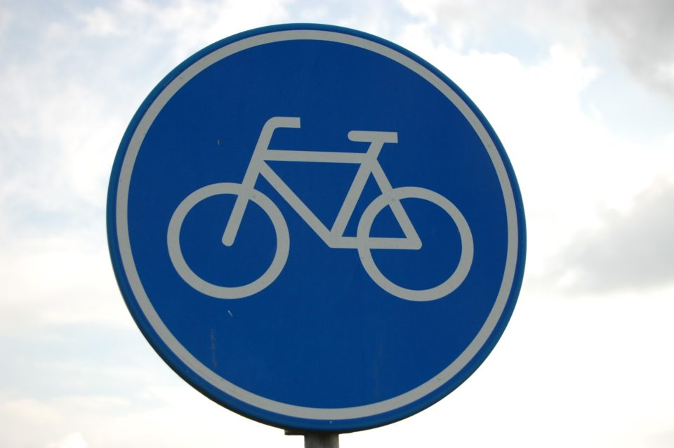 Pyörätie, liikennemerkki