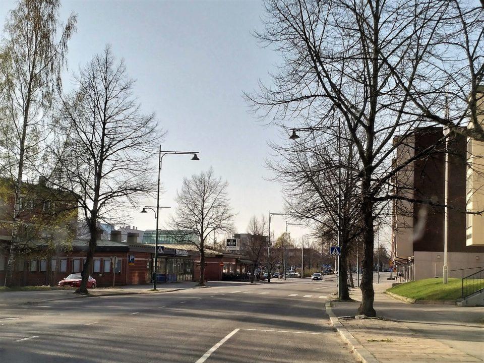 Sastamala, Puistokatu