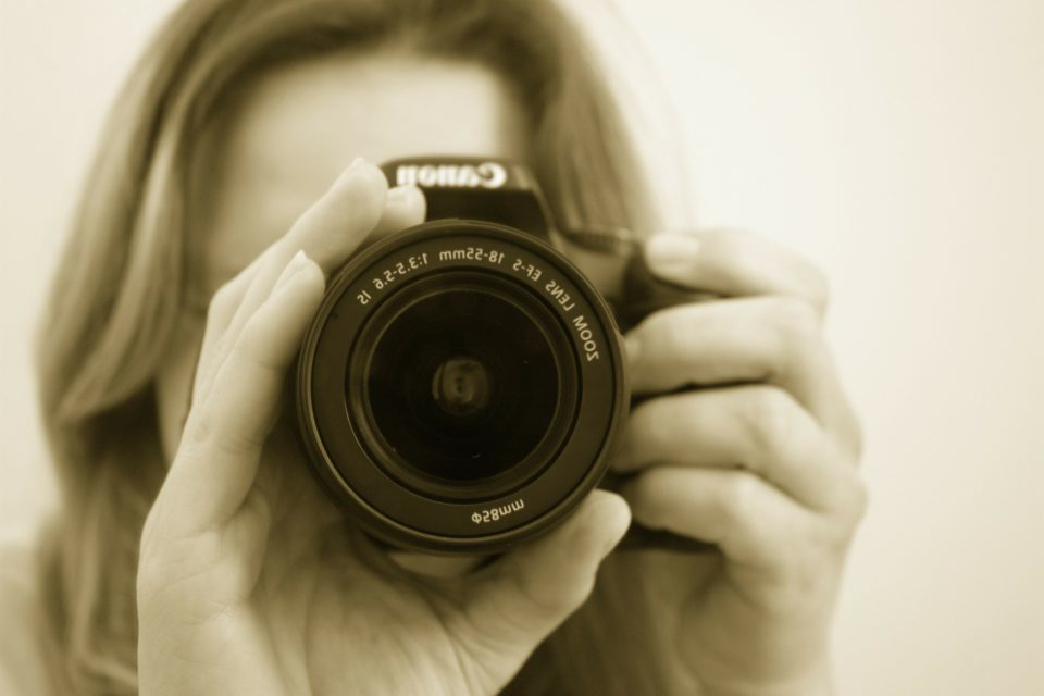 Valokuvaaja, kamera