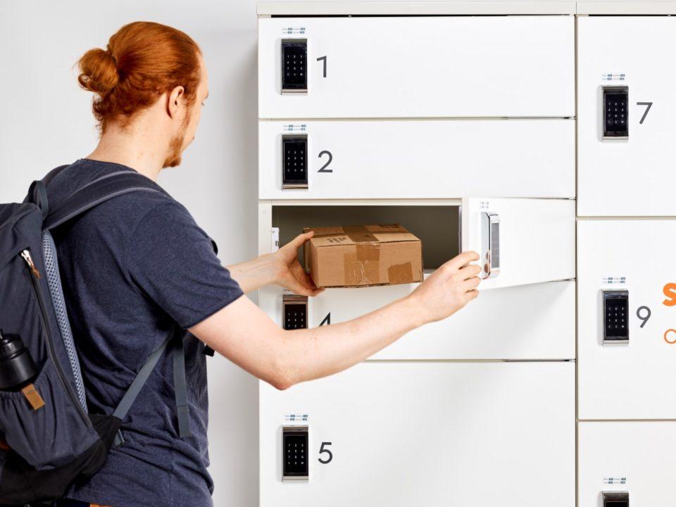Posti, pakettiautomaatti