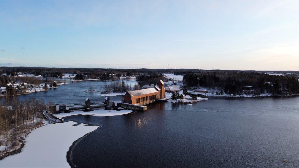 Äetsän voimalaitos, Kokemäenjoki