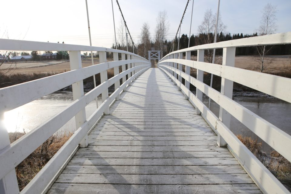 Punkalaidun, silta