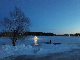 Ratas, valoteos, Kokemäenjoki