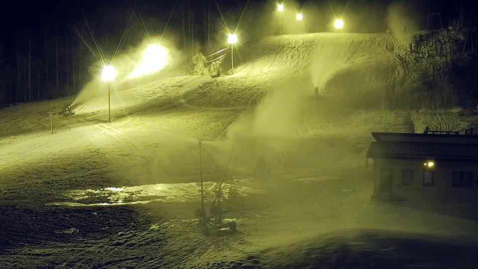 Ellivuori, lumetus