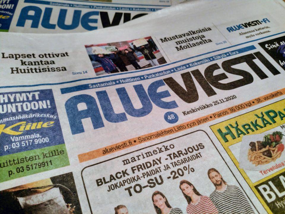 Alueviesti, paikallinen lehti