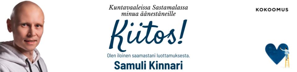 Mainos - Samuli Kinnari