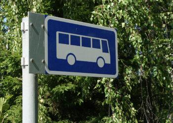 Linja-autopysäkki, linja-auto